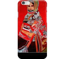 Ethnic woman number 2 iPhone Case/Skin