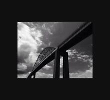 Black and White Bridge Unisex T-Shirt