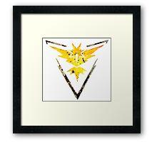 Team Instinct Emblem Framed Print