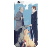 he seems to like you  iPhone Case/Skin