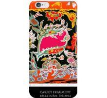 Carpet fragment iPhone Case/Skin