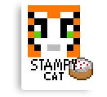 Funny cat t-shirt - unisex shirt Canvas Print