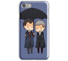 let me keep you dry  iPhone Case/Skin