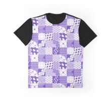 TILES [ purple & white ] Graphic T-Shirt