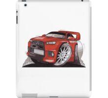 Mitsubishi Lancer Evo Caricature  iPad Case/Skin