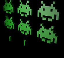 Space Invaders 3D by Hirgeth
