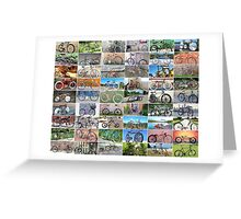 Rat Rod Bikes Build Off 11 Bike Poster Greeting Card