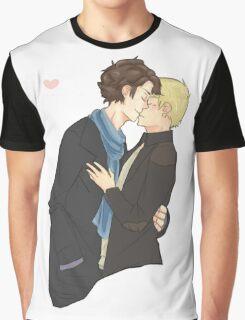 sharing a kiss Graphic T-Shirt