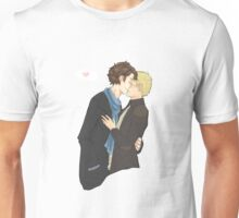 sharing a kiss Unisex T-Shirt
