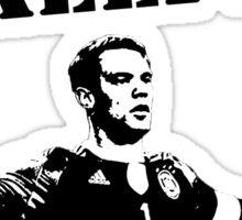 Neuer - Im a Keeper Sticker