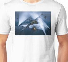 Short Stirling battling through Unisex T-Shirt