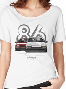 Toyota AE86 hachi roku Women's Relaxed Fit T-Shirt