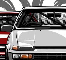 Toyota AE86 hachi roku Sticker