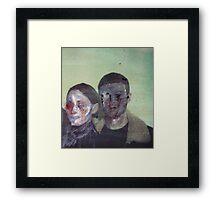 Disfigure Faces 01 Framed Print