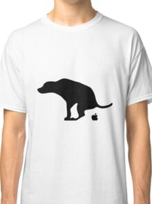 Dog Pooping Apples Classic T-Shirt
