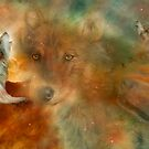 Celestial Wolves by Carol  Cavalaris