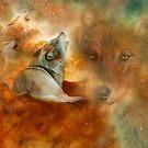 Celestial Wolves 2 by Carol  Cavalaris