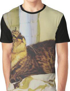 Xena the Warrior Kitty  Graphic T-Shirt