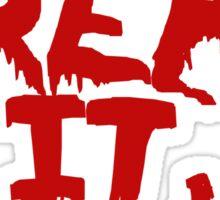 Rocky Horror Dont Dream It Be It  Sticker