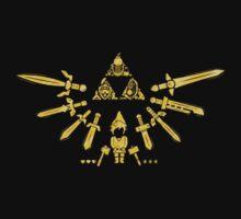 Zelda Triforce One Piece - Long Sleeve