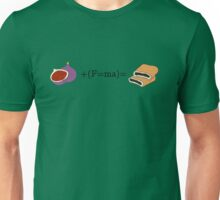 Newton's second law of cookies Unisex T-Shirt