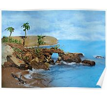 Model Key Hole Arch En plein air Poster