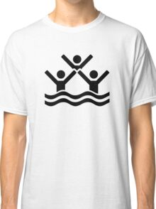 Synchronized swimming Classic T-Shirt