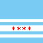 Chicago Flag by Dean Dunakin