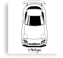 RX7 vertical Canvas Print