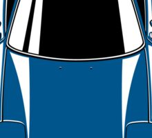 RX7 vertical (blue) Sticker