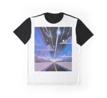 space Road Graphic T-Shirt