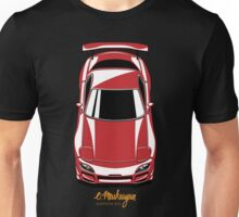 RX7 vertical (red) Unisex T-Shirt