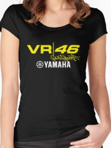 VR-46 VALE RIDER YAMAHA Women's Fitted Scoop T-Shirt