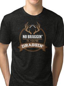 Whitetail Deer Hunting Shirt Tri-blend T-Shirt
