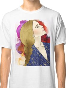 Painted Girl Classic T-Shirt