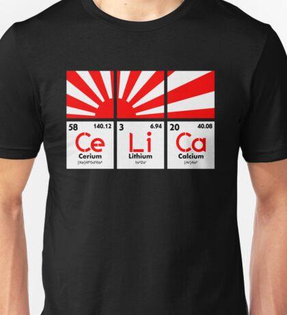 Cerium Lithium Calcium rising sun (2) Unisex T-Shirt