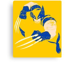 Wolverine • 90's X-Men Version Canvas Print