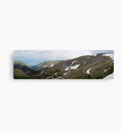 Rocky Mountain National Park Panorama 3 Canvas Print
