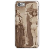 Vintage Knife Thrower iPhone Case/Skin