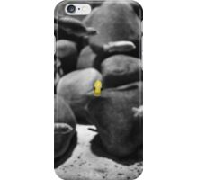 Little yellow fish iPhone Case/Skin