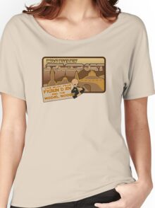 Sat Wars Mos Eisley Spaceport  Women's Relaxed Fit T-Shirt