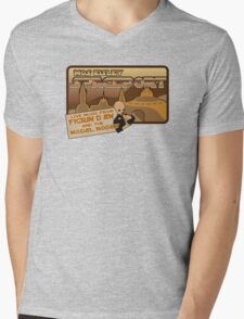 Sat Wars Mos Eisley Spaceport  Mens V-Neck T-Shirt