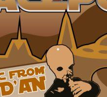 Sat Wars Mos Eisley Spaceport  Sticker