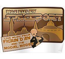 Sat Wars Mos Eisley Spaceport  Poster