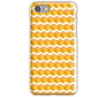 cube pattern yellow iPhone Case/Skin