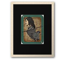 Sirius Black Playing Card Framed Print