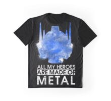 TF - All My Heroes Are Metal Graphic T-Shirt