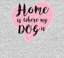 Home is Where My Dog Is Womens Fitted T-Shirt