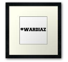#WARDIAZ  Framed Print
