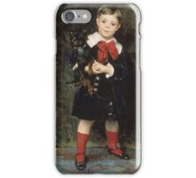 John Singer Sargent - Robert 1879. Child portrait: cute baby, kid, children, pretty angel, child, kids, lovely family, boys and girls, boy and girl, mom mum mammy mam, childhood iPhone Case/Skin